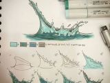 0 and 1 Drawing Watter Splah Fast Tutorial 1 Draw the Global Volume U Want to Give