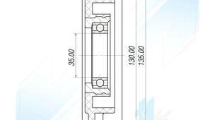 2. 0 Drawing Klimakompressor Riemenscheibe Fur toyota Avensis T25 2 0 2 2 2 4 2