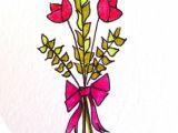 2 Flowers Drawing Just 2 Flowers Fleur Flower Flowers Frenchflowers Red