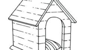 3d Drawing Dog House 28 Best Dog House Coloring Page Images In 2019