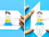 5 Minute Drawing Ideas 20 totally Cool Paper Crafts Youtube