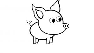 9 11 Cartoon Drawing How to Draw A Simple Pig 9 Steps with Pictures Wikihow