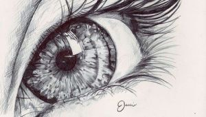 A Detailed Drawing Of An Eye Reflection In the Eye Photos Pinterest Drawings Art Drawings