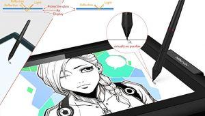 Adobe Animate Drawing Tablet Xp Pen Artist 13 3 Pro Grafiktablett Mit Display 13 3 Zoll Grafikmonitor Tilt Funktion Zeichen Display Mit 8 Schnelltasten Und 1 Red Dial 88 Ntsc
