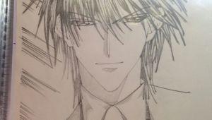 Anime Drawing Of Jin Gin Of Manga Love Celeb My Creation and Drawing Pinterest
