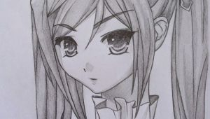 Anime Drawing Using Pencil Anime Drawings In Pencil Girls and Di Class Make A