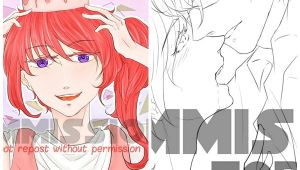 Anime Drawing without Color Lineart Colored Bustup Artists Clients