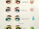 Anime Eyes Girl Drawing Vampire Fairy Mermaid Elf Eye Art Eye Art Sketches Art