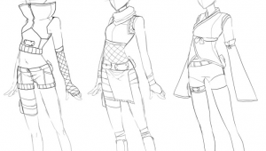 Anime Female Body Drawing Pin On Anime Girls