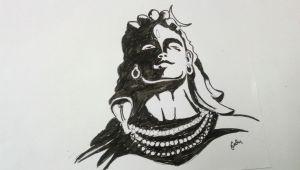Baaghi 2 Easy Drawing Mahadev Shiv Sketching Sketching Tutorials Sketches Tutorial