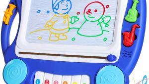Baby Girl toys Drawing Sgile Musical Magnetic Drawing Board Gift for Kids Girl with sound