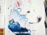 Beautiful Animal Drawings Pin by Alyssa Maze On Cool Art In 2019 Watercolor
