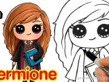 Best Anime Drawing Youtube Channels How to Draw Hermione Easy Harry Potter Youtube