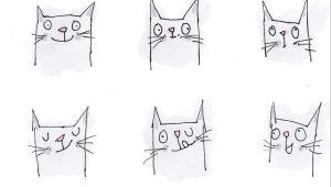 Black Cat Drawing Easy 5 Sec Drawing Of Cats Drawings Doodle Art Cat Drawing