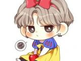 Bts Jhope Cartoon Drawing 71 Best Bts Fanart Stickers Images Drawings Bts Chibi Bts Drawings