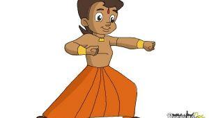 Cartoon Drawing Bheem How to Draw Chhota Bheem Drawingnow