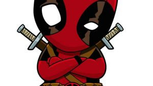 Cartoon Drawing Deadpool A Little Design for some Dead Pool Stickers Check them Out On My
