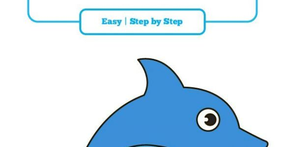 Cartoon Drawing Dolphin How to Draw A Dolphin In A Few Easy Steps How to Draw Animals