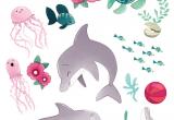 Cartoon Drawing Dolphin La Fiancee Au Beurre Sale Dauphins Summer Under the Sea