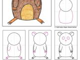 Cartoon Drawing for Class 1 Hamster Mirm Drawings Art Art Projects