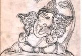 Cartoon Drawing Ganesha 258 Best Ganesh Art Images Ganesha Art Baby Ganesha Buddha