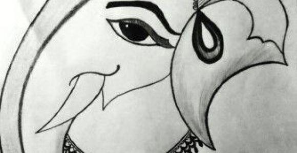 Cartoon Drawing Ganesha Ganesh Ji Sketch Pencil Sketches In 2019 Pinterest Sketches
