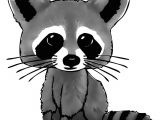 Cartoon Drawing Images with Colour Cartoon Raccoon Drawing In 4 Steps with Photoshop Tattoo Ideas