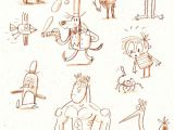 Cartoon Drawing Japanese Doodles Fred Blunt Illustration Cartoon Doodles Drawings