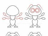 Cartoon Drawing Made Easy How to Draw An Ant In 2019 Drawing Drawings Easy Drawings Art
