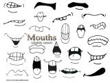 Cartoon Drawing topics Secondary Mouths Easiest Drawings Drawings Cartoon Drawings