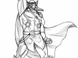 Cartoon Drawing Types How to Draw Thor Step 4 Art Drawings Thor Art