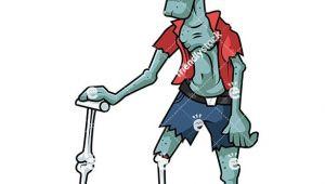 Cartoon Drawing Zombie Old Man Zombie Cartoon Clipart Vector Zombie Clipart Zombie