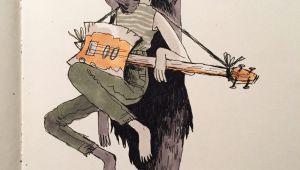 Cartoon Violin Drawing Em Partridge On Adventure Time Adventure Time Adventure Time