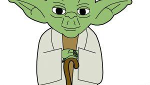Cartoon Yoda Drawing Clip Art Yoda Cookies Star Wars Clip Art Yoda Drawing