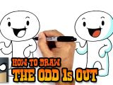 Cartoons Drawing with Color How to Draw and Color the Odd 1s Out Youtube