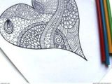 Chance Of Drawing A Heart 100 Best Hearts Images Coloring Pages Mandala Coloring Coloring