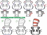 Children S Drawing Of A Cat How to Draw the Cat In the Hat Cute Kawaii Chibi Version Easy