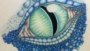 Colored Pencil Drawings Of Dragons Dragon Drawings In Color Dragon Eye Color Drawing by Dragons