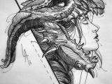Coolest Drawings Of Dragons Drawing Dragons Artwork Art Drawings Ink Pencils In 2019