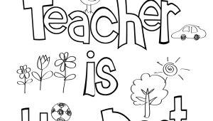 Cute Drawing for Your Teacher Teacher Appreciation Coloring Sheet Teacher Appreciation