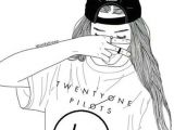 Cute Drawing Girl Wallpaper Wallpaper Emo Aesthetic Tumblr Cute Love Girl Twenty One Pilots