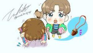 Cute Drawing Jimin 669 Best Bts Cartoon Cute Images Bts Chibi Bts Drawings Bts Fans