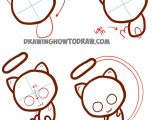 Cute Easy Drawings Step by Step Animals How to Draw Cute Baby Chibi Mew From Pokemon Easy Step by