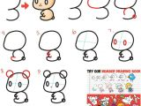 Cute Easy Drawings Step by Step Animals How to Draw Cute Chibi Kawaii Characters with Number 3