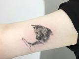 Dog Tattoo Drawing 40 Amazing Dog Tattoos for Dog Lovers Animal Tattoo Designs