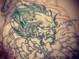 Dog Tattoo Drawing Amsterdam Tattoo 1825 Kimihito Foo Dog Japanese Style Tattoo Design