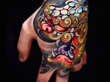 Dog Tattoo Drawing Love This Foo Dog Hand Tattoo Curatedtattoo Curated Tattoos