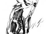 Dogs Drawing Sleds Papir Illustration Camilla Boman Jensen Art Pinterest