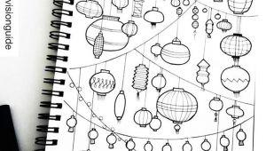 Doodles to Draw Easy Lantern Doodles Drawings Bujo Doodles Doodle Art
