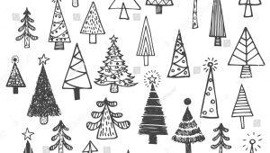 Draw A Christmas Tree Easy Christmas Tree White Spruce Fir Fir Tree Simple Drawing Set